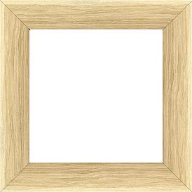 Cadre bois profil plat largeur 4.2cm décor bois naturel - 61x46