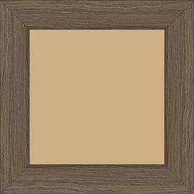 Cadre bois profil plat largeur 4.2cm décor bois noyer - 84.1x118.9
