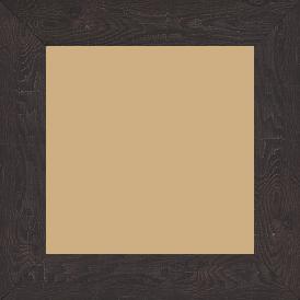 Cadre bois profil plat largeur 4.2cm décor bois wengé foncé - 84.1x118.9
