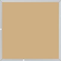Cadre aluminium profil plat largeur 7mm, couleur argent mat ,(le sujet qui sera glissé dans le cadre sera en retrait de 9mm de la face du cadre assurant un effet très contemporain) mise en place du sujet rapide et simple: il faut enlever les ressorts qui permet de pousser le sujet vers l'avant du cadre et ensuite à l'aide d'un tournevis plat dévisser un coté du cadre tenu par une équerre à vis à chaque angle afin de pouvoir glisser le sujet dans celui-ci et ensuite revisser le coté  (encadrement livré monté prêt à l'emploi ) - 18x24