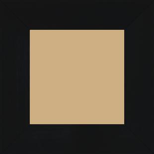 Cadre bois profil plat largeur 6cm couleur noir mat finition pore bouché haut de gamme