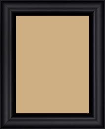 Cadre  bois noir — 15 x 20