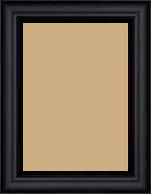 Cadre  bois noir — 15 x 21