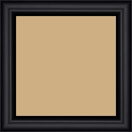 Cadre  bois noir — 20 x 20