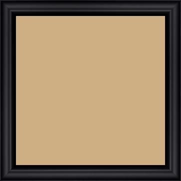 Cadre  bois noir — 30 x 30