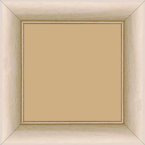 Cadre bois profil arrondi largeur 4.7cm ayous massif naturel (sans vernis, peut être peint...) - 20x30