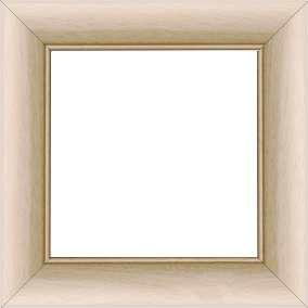 Cadre bois profil arrondi largeur 4.7cm ayous massif naturel (sans vernis, peut être peint...) - 61x46