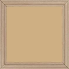 Cadre bois profil doucine inversée largeur 2.3cm ayous massif naturel ( sans vernis, peut être peint...) - 15x20