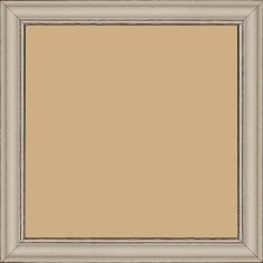 Cadre bois profil doucine inversée largeur 2.3cm argile satiné bord ressuyé - 15x20