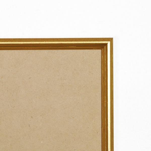 Cadre cadre bois profil arrondi largeur 15mm complet de couleur or antique dimensions 10x15 cm, à poser ou à suspendre horizontalement ou verticalement.   verre normal, mise en place du sujet dans le cadre simple et rapide, ouverture et fermeture du cadre par pointes flexibles. fond en isorel. - 10x15