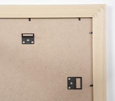 Cadre  bois noir — 24 x 30